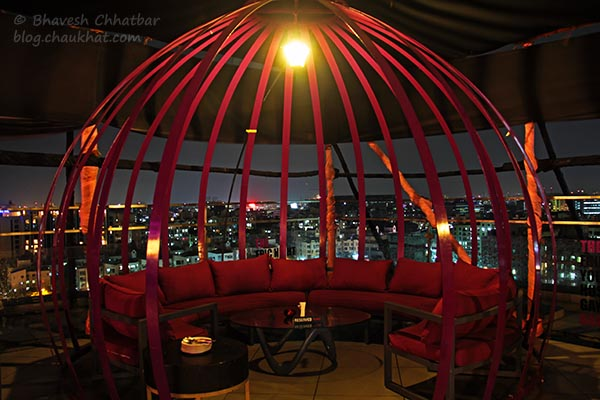 Special Seating at The Flying Saucer Sky Bar, Viman Nagar, Pune