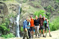 The first group photo - Annapurna Circuit