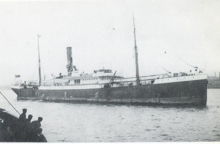 Vapor ORON, despues PAZ DE EPALZA. Del libro Elder Dempster. Fleet History. 1852-1985.jpg