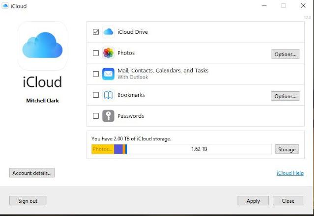 iCloud Passwords on Windows