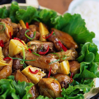 Quick and Easy Chinese Chicken With Oyster Sauce.