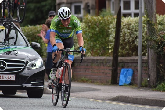 Tour of Britain - Stage 3 Cheshire - solo breakaway