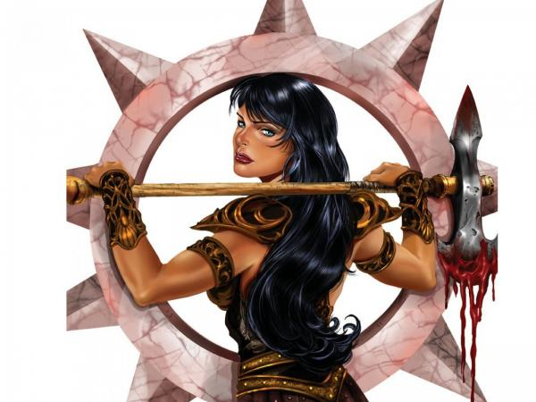 Warrior Girl With Black Hairs, Warriors 2