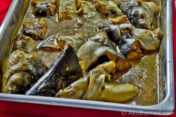masak tempoyak ikan patin
