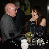 WWW.ENTSIMAGES.COM -  Malcolm Compton and Adele Bloom  at    Lana Holloway - birthday party at Avista Bar, The Millennium Hotel Mayfair, London December 16th 2013                                                   Photo Mobis Photos/OIC 0203 174 1069