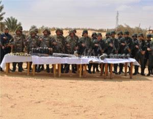 Des missiles antiaériens « Stinger » récupérés sur les terroristes éliminés à El Oued