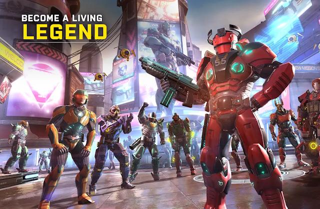 Shadowgun Legends Ön Kayıt Ol