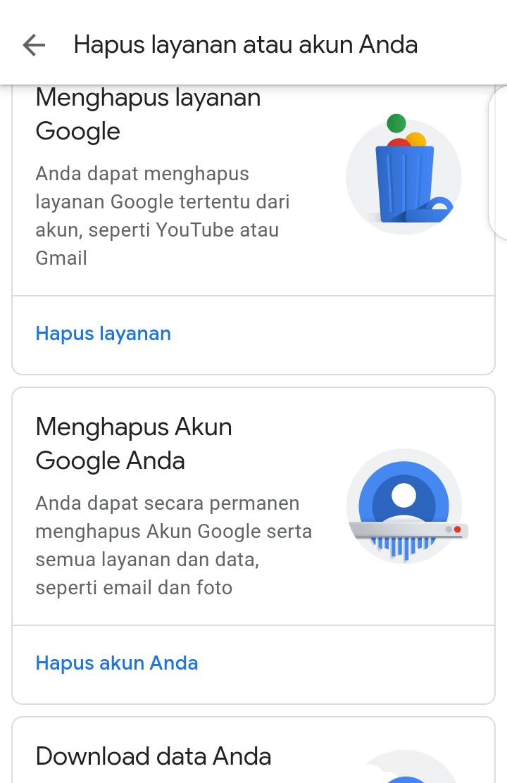 Penting Begini Caranya Menghapus Akun Google Sampai Ke Akarnya Waktunya Anda Tahu