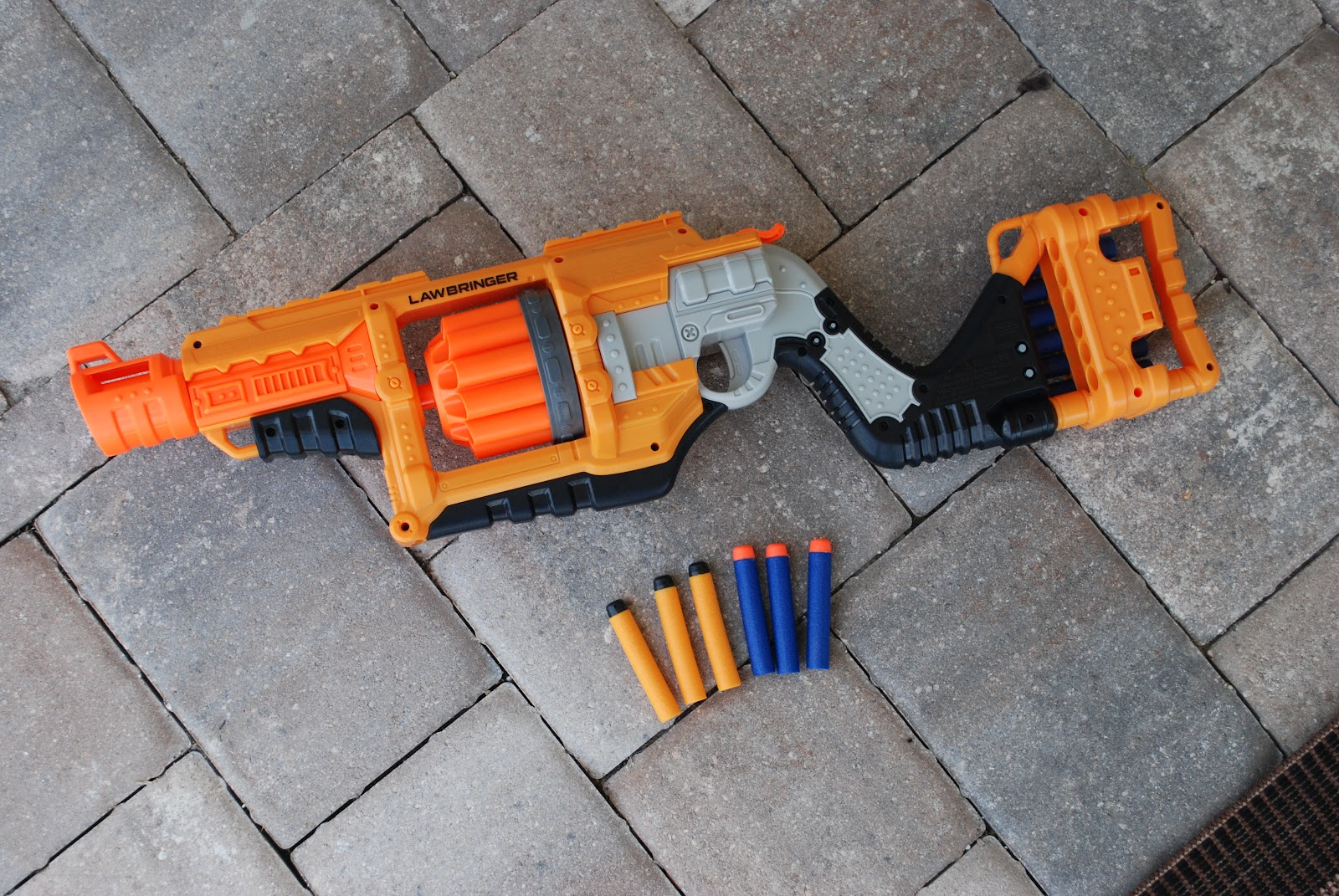 Coop's Review of the new BuzzBee blasters (Monorail!!) : Nerf