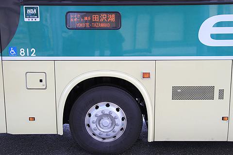江ノ電バス藤沢「レイク&ポート号」 サイド