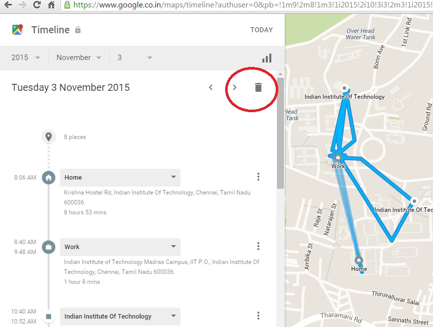 How to delete old driving directions? - Google Maps Help Driving Directions From Google Maps on