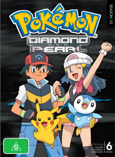 Pokemon Bửu Bối Thần Kì Season 10 - Diamond And Pearl 2004