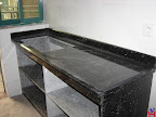 Black Galaxy Marble countertop