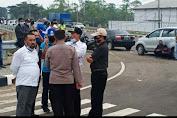 Merasa Tidak Mendapat Perhatian Paska Banjir, Warga FORMASU Geruduk KSOP Pelabuhan Patimban