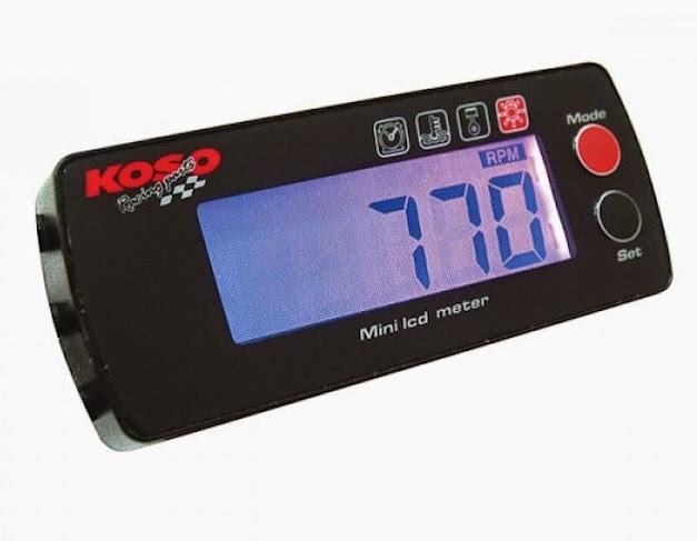 RALLYE Drehzahlmesser und Thermometer