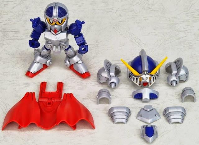 Knight Gundam Gaiden Legend BB-370 SD dễ dàng lắp ráp và mang theo trong giỏ