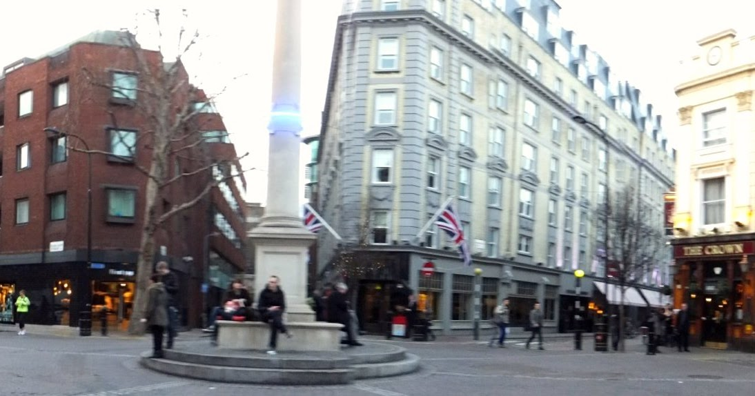 Rendez vous au seven dials west end londres blog d elisa n voyages photos inspiration - Le petit jardin covent garden metz ...