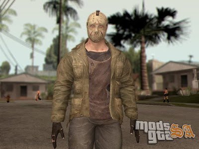 Skin Jason Voorhees do Mortal Kombat X para GTA San Andreas