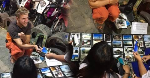 Kehabisan Uang untuk Pulang ke Negaranya, Bule Ukraina ini Menjual Foto Hasil Travelingnya