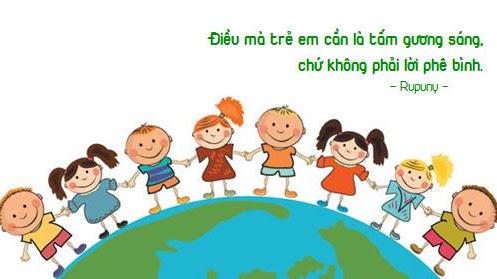 Nếu hôm nay trẻ em…