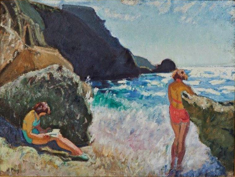 Jean Puy - Baigneuses à Sauzon