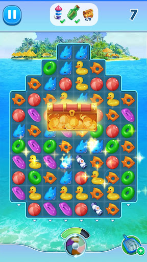 The Love Boat: Puzzle Cruise u2013 Your Match 3 Crush! apkpoly screenshots 8