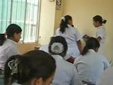 Aluna de enfermagem  transando com o professor pra aumentar a nota