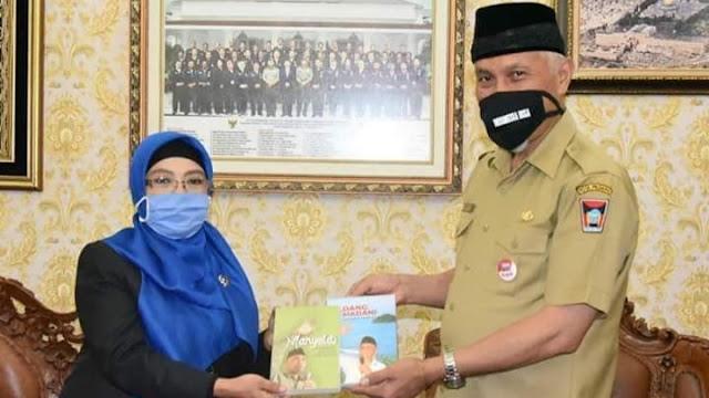 Wako Mahyeldi Terima Kunjungan Ketua PTUN Padang Yang Baru