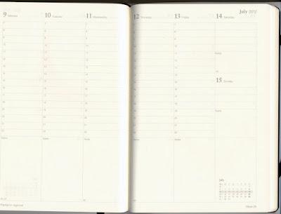 Weekly Project Planner oakandale