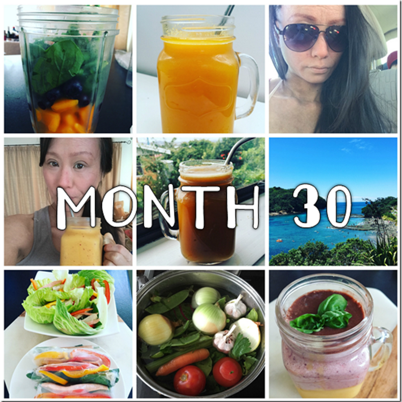MONTH 30 (2nd half): A Cleansing Fun Month