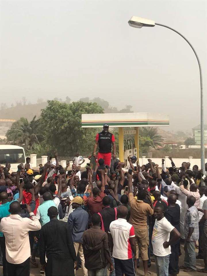 Dino Melaye Supports #EndSARS Protest, Recounts His Face Off With The Police
