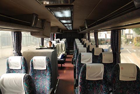 伊予鉄道「マドンナエクスプレス」・・95 車内