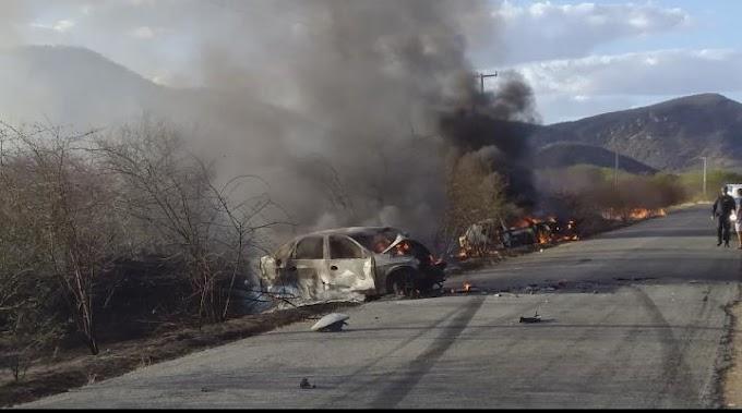 Grave acidente na RN 086 próximo a Equador RN deixa pelo menso 1 vítima fatal