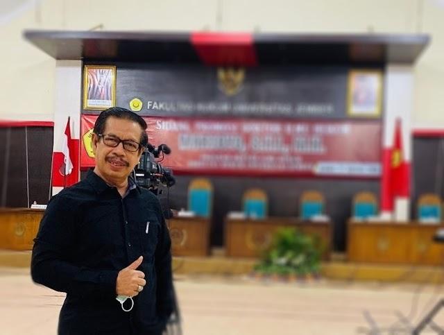 Profesor Arief, Dosen Unej Ucapkan Selamat ke 2BHD
