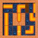 Puzzle Block Ball Path Free icon