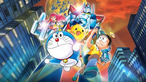 Doraemon Cartoon Movie Steel Troops in Hindi Dub