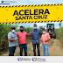 Prefeitura de Santa Cruz da Vitória inicia recuperação de estradas vicinais