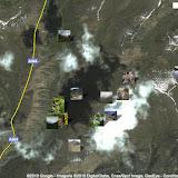 Localisation des photos au sud de la Chon Ashuu Pass et le long de l'Ottuk