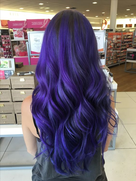 Blue Hairstyles For long Hair-It Is Different 2017 15