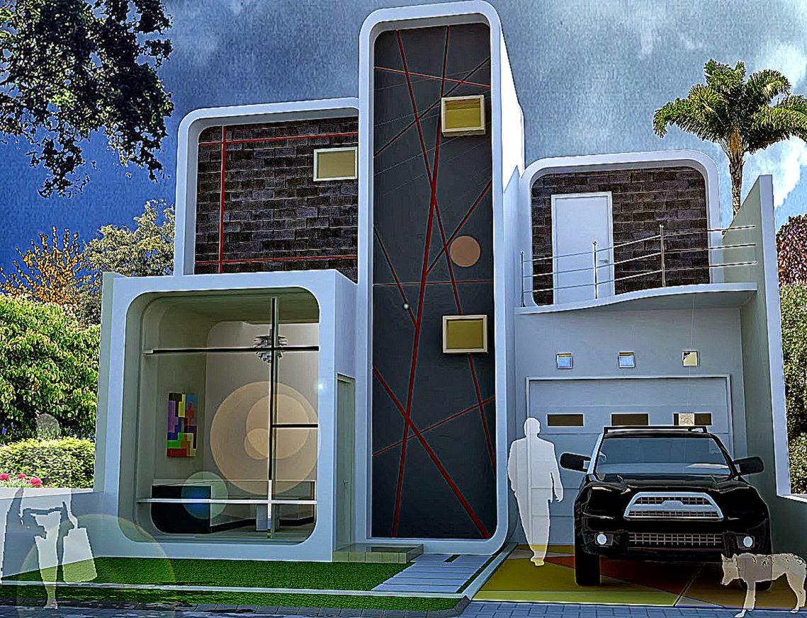 Contoh Rumah Desain Minimalis  Gallery Taman Minimalis