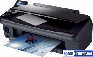 How to Reset Epson DX8450 laser printer – Reset flashing lights error