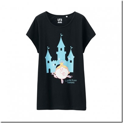 UNIQLO Mr. Men Little Miss UT Graphic T-Shirt woman 07