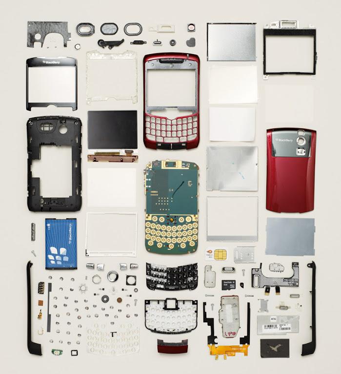 *拆解你的手機:藝術攝影師Todd Mclellan現代藝術攝影 Things Come Apart! 1