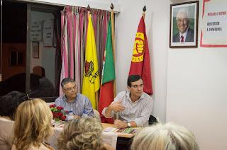 2015/09/03 - Reunião de Militantes em Carcavelos / Parede