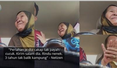 """""""Tak Payah"""" - Nenek Mengadu Takut Ambil Vaksin, Suara Sayu Buat Netizen Sebak"""