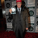 WWW.ENTSIMAGES.COM - Nicky Lauder displaying his achievement award  at    Motor Sport Hall Of Fame at Royal Opera House Covent Garden London February 25th 2013                                                    Photo Mobis Photos/OIC 0203 174 1069