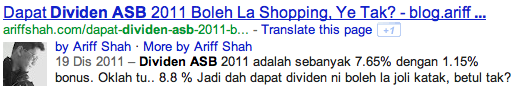 rich snippet ariff shah