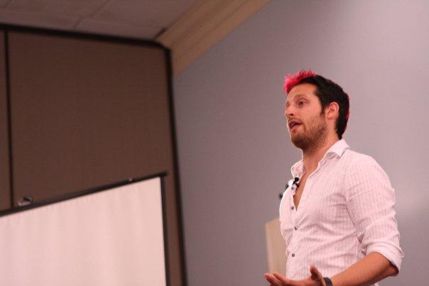 Pickup Artist Adam Lyons Speaks At Seminar 2, Afc Adam Lyons