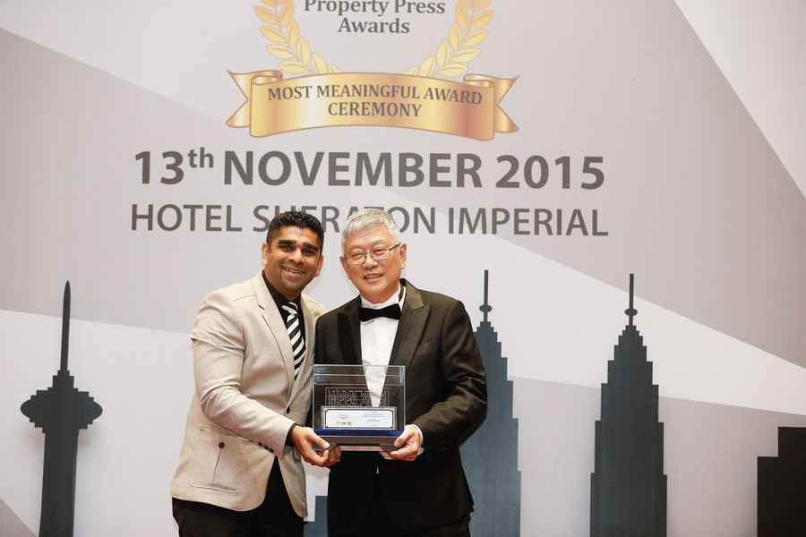 The Haven Ipoh's Latest Achievement: The Malaysian Property Press Awards 2015