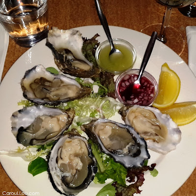 CarouLLou.com Carou LLou in Amsterdam Netherlands oysters food gourmet+